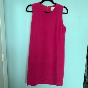 Cynthia Rowley Silk Pink Sleeveless Shift Dress